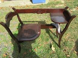 Antique Upcycled Gossip Telephone Bench Seat By Beep3 On Etsy Telephone Bench Seat
