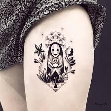 Tattoo At Violettebleunoir Sur Instagram Baby Kaonashi