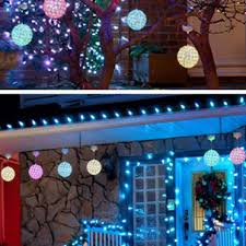 Outdoor christmas lighting ideas Decorated Coloured Light Outdoor Christmas Lighting Ideas Porch Roof Yard White Tree House String Exclusive Floral Designs Incredible Diy Christmas Lights Decorating Projects Light Displays