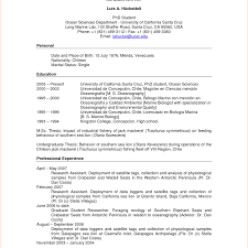 Sample Resume For Graduate School Application Graduate Applicationesume Sample Masters Program School Grad 14