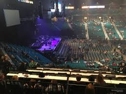 Mgm Grand Garden Arena Section 217 Rateyourseats Com