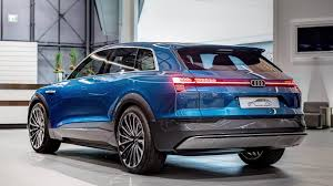 2018 audi electric car. simple electric audi etron quattro concept arrives at forum neckarsulm with 2018 audi electric car a