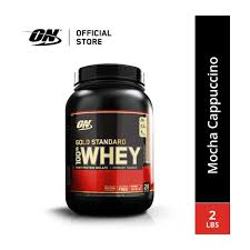 optimum nutrition gold standard whey 2 lbs 0 91 kg mocha cappuccino