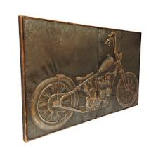 motorcycle graphic art on motorcycle wall art sculpture with metal transportation wall art you ll love wayfair