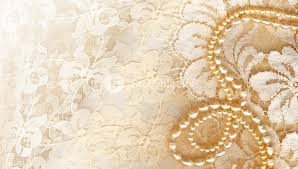 Wedding Background With Cream Silky Decoration Accessories Royalty