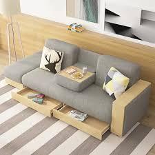 gray modern full sleeper sofa