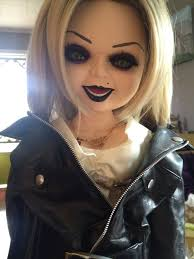 my custom tiffany doll bride of chucky i used the spencer s tiffany doll