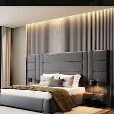 Veja como escolher a cabeceira de madeira ideal para a decoração do seu quarto. Cabeceira Cama Box King 2 10cm X 1 20cm Estofada Modulos No Elo7 Delma Lopes Ferreira F89944
