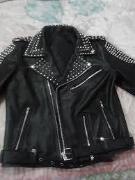 studded biker leather jacket zoom helmet helmet helmet helmet
