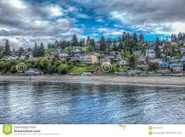 Dash Point Wa Tide Chart Dash Point Homes Hdr 2 Stock Photo Image Of Coast Pier