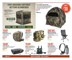 cabelas weekly flyer 2 weeks of savings ultimate outer oct two man chair blind