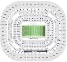 Bank Of America Stadium Charlotte Nc Seating Chart Bank Of America Stadium Tickets With No Fees At Ticket Club