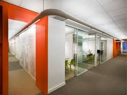 office orange. The New Astral Media Office Interior Design By Lemay Associés Orange