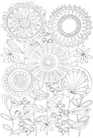 Difficult Coloring Sheets Really Hard Coloring Pages Free Flower