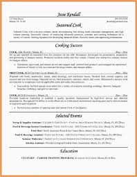 Line Cook Resume Skills Awesome Cook Resume Templates Lead Line