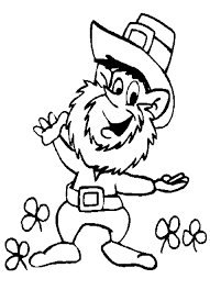 Small Picture Leprechaun Coloring Pages 10 Coloring Kids