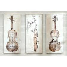 wall art set of 3 neutral violin study canvas wall art set of 3 sunburst mirror wall art set of 3 modern framed