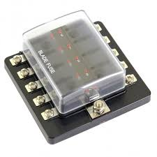 blade fuse box leds 10 way standard blade fuse box leds 10 way