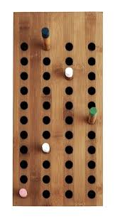 Wood Coat Rack Wall Mount Beauteous Wallmounted Coat Rack Contemporary Wooden SCOREBOARD By