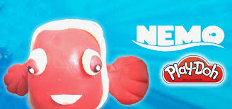 how to make disney finding nemo with play doh