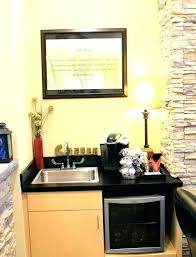 office in kitchen. coffee bar station office stations furniture built in kitchen for microwave and