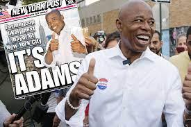 Eric Adams declared winner of the ...