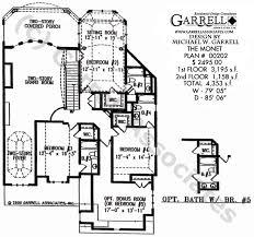 monet house plan house plans by garrell associates, inc Two Storey House Plan Description monet house plan 00202, 2nd floor plan Simple Small House Floor Plans