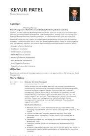 Deputy General Manager Resume Samples Visualcv Resume Samples Database