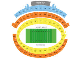 Air Force Football Seating Chart Viptix Com Falcon Stadium Tickets