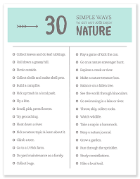 get out and enjoy nature 30 simple ways to immerse your kids in nature