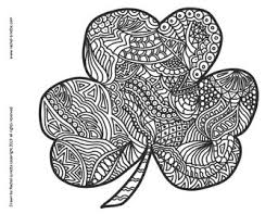 Color by number printable coloring pages for kids. Shamrock Coloring Pages For St Patrick S Day Minds In Bloom