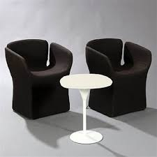bloomy 2 chairs and coffee table set