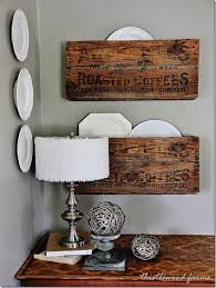 wood crate furniture diy. Dish Shelves Wood Crate Furniture Diy