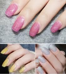 12 Neon Colours živé Lesklé Micro Glitter Uv Gelové Polské Umělé Nehty Namočené Na 12ml
