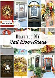 diy fall room decorations beautiful fall door decorations at refresh restyle diy fall room decor laurdiy