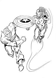 Can't be denied, iron man is one of the most important figures in the avengers team. Coloring Pages Iron Man Print Superhero Marvel For Free