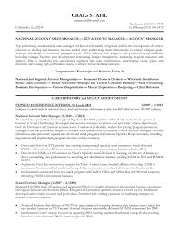 Farm Manager Resume National Account Manager Resume Template RESUME 21