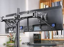 duramex dual lcd monitor desk mount stand fully adjule upto 27 enforced version free ca electronics