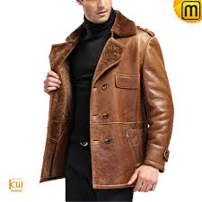 brown sheepskin coat cw868901 jackets cwmalls com