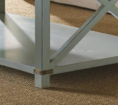 morro bay cottage coffee table leg detail