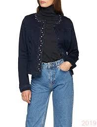 best place gerry weber women s jacke jeans plus gewebe denim jacket b07d3f5tks