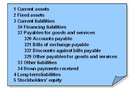 Chart Of Accounts Sap Documentation