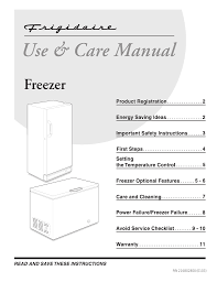 Frigidaire Freezer Warning Lights Frigidaire 12 Cu Ft 340 Liter Upright Freezer Ffu12c2a