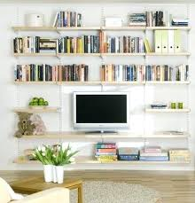diy wall bookshelf ideas lovable wall shelving ideas for living room top home furniture ideas with