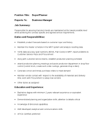 buyer planner job description   hashdocbuyer planner job description