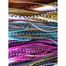 100 Real Feather Mix Color Hair