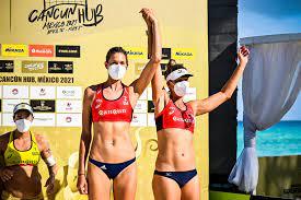 Alix Klineman take bronze in Cancun