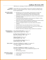 Resume Operating Room Nurse Cover Letter Super Idea Professional