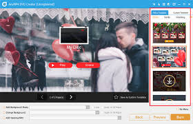 Online Menu Creator Menu Templates Of Anymp4 Dvd Creator