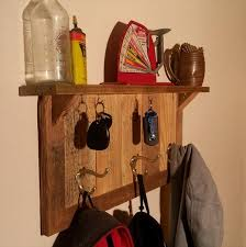 Key Coat Rack diy wooden key holder Google Search Apartment Pinterest 2